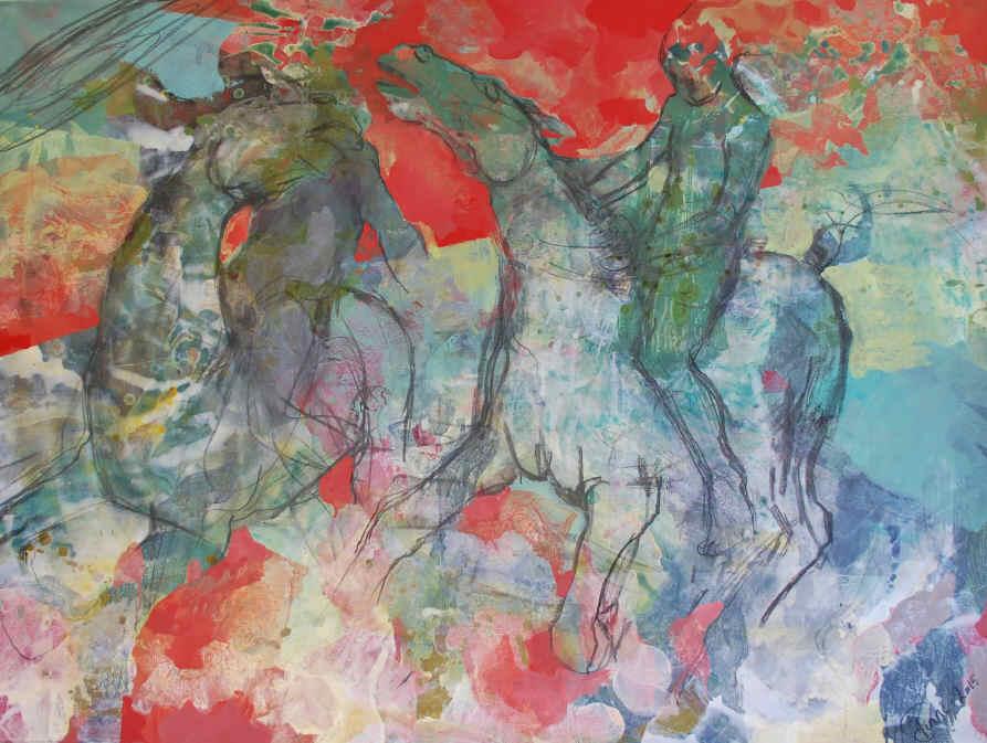 Flamenco 120 x 160 cm